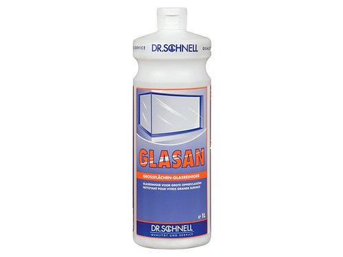 Средство для очистки стеклянных поверхностей большой площади Glasan