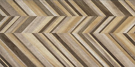 PORCELANATO JUST COLOR CHEVRON MIX WARM
