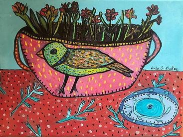Vase à l'oiseau naif.jpg
