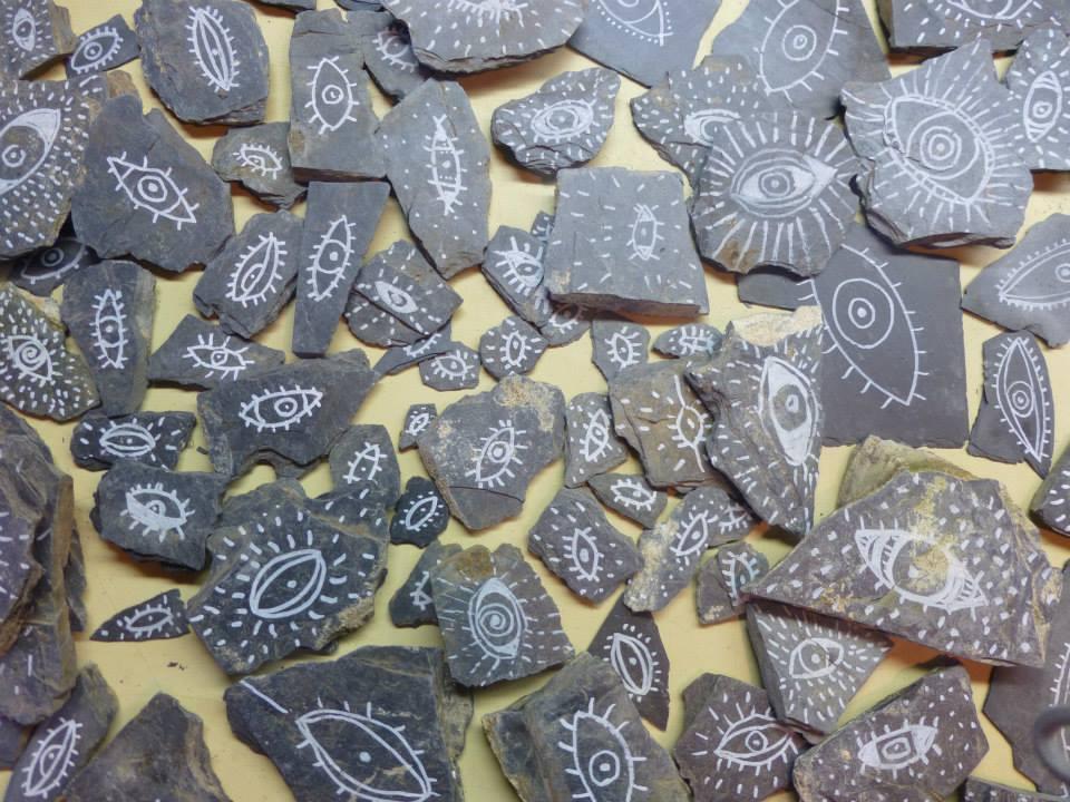 Fragments et inscriptions Dahu