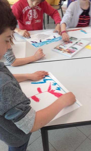 Atelier dessin  Ecole