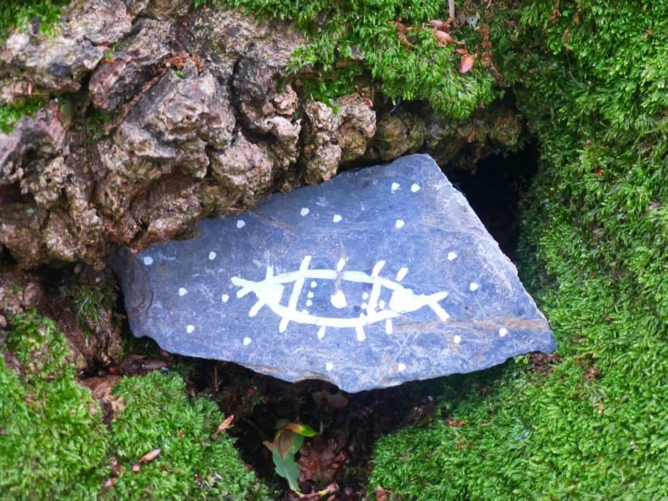 Fragment et inscription Dahu