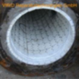 износостойкие керамические трубы VIRID