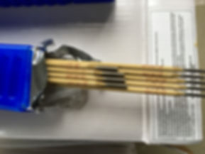 ремонтные электроды SPLAV