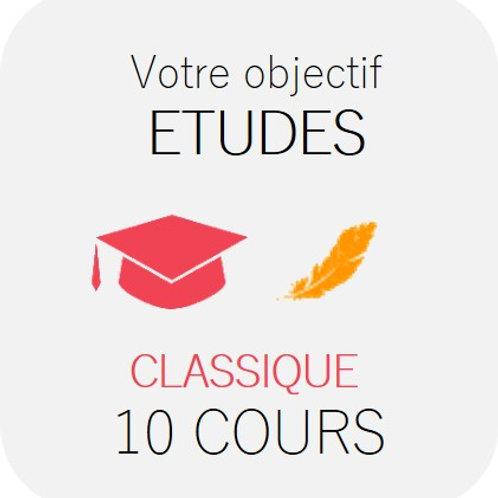 ETUDES - Classique 10 cours