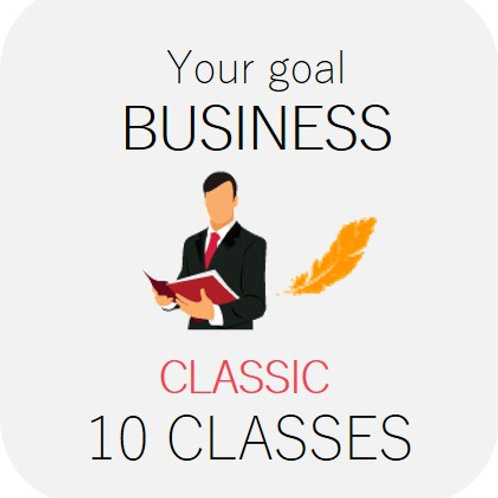 BUSINESS - Classic 10 classes