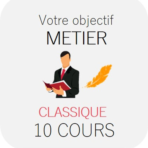 METIER - Classique 10 cours