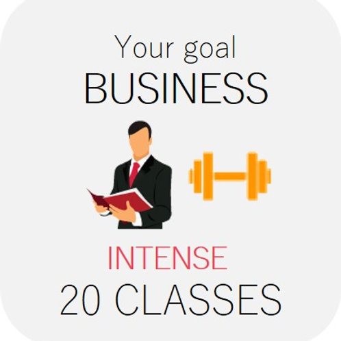 BUSINESS - intense 20 classes