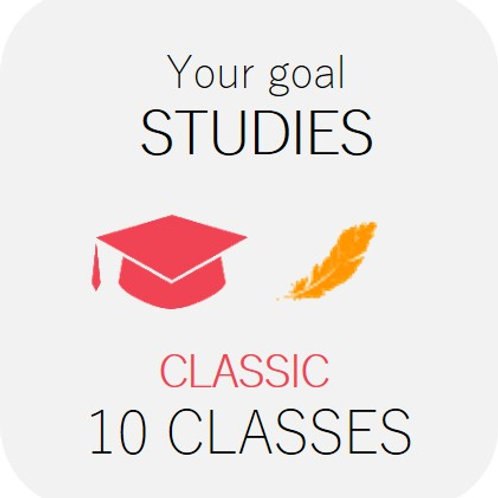 STUDIES - Classic 10 classes