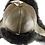 Thumbnail: Røros lammeskinnslue - grønn m/ sort Toscana lammepels