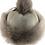 Thumbnail: Casual lammeskinnslue med Toscana lammepels og dusk - grå