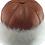 Thumbnail: Casual lammeskinnslue med Toscana lammepels - brun
