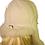Thumbnail: Røros lammeskinnslue med Toscana lammepels - Hvit