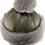 Thumbnail: Casual lammeskinnslue med Toscana lammepels og dusk - grønn