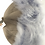 Thumbnail: Casual lammeskinnslue med Toscana lammepels - mørkbeige