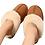 Thumbnail: Lammeskinnsslippers med lammepels - chestnut