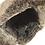 Thumbnail: Røros lammeskinnslue - grønn m/ gråsort Toscana lammepels