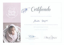 Diploma Fotografia Neonati Paloma Schell