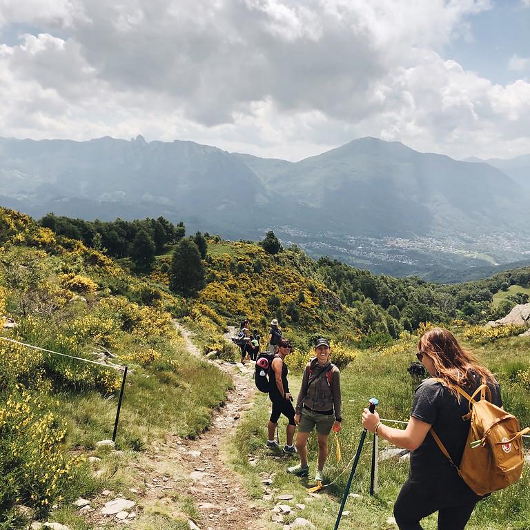 Yoga & hike on Monte Bigorio.
