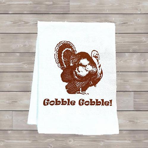 GOBBLE GOBBLE TEA TOWEL