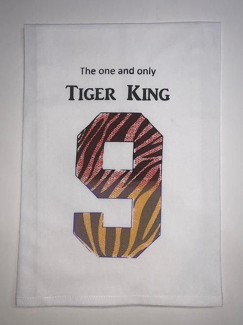 BENGAL, BURREAUX, BURROW, FIRST ROUND DRAFT, TIGER, TIGER KING, TEA TOWEL, PILLOW, TOTE,