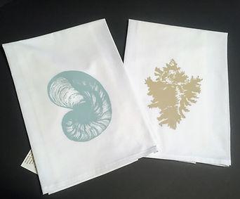 SEA SHELL TEA TOWELS