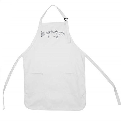 SPECKLED TROUT APRON