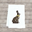 Thumbnail: CHOCOLATE BUNNY TEA TOWEL