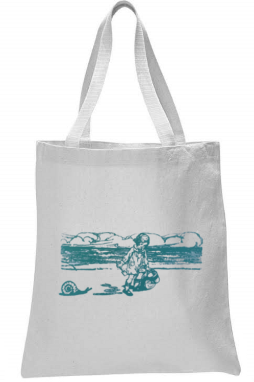 SNAILS AND PAILS TOTE BAG