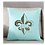 Thumbnail: FLEUR DE LIS WITH MASK PILLOW WITH FEATHER INSERT