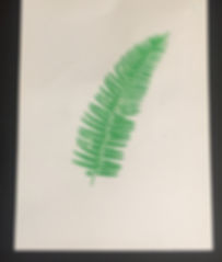 FERN FROND TEA TOWEL