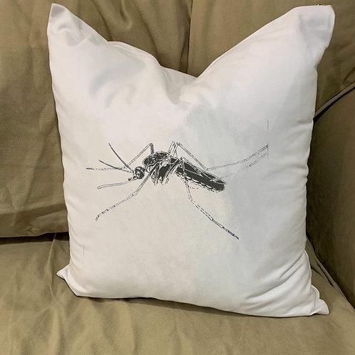 MOSQUITO PILLOW WITH FEATHER INSERT