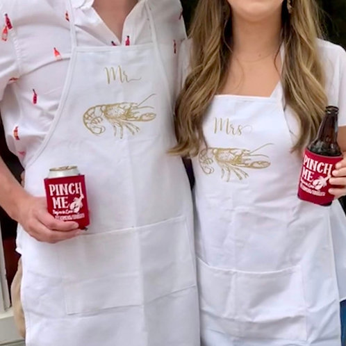 Mr. Or Mrs. Crawfish Apron
