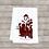 Thumbnail: ALLIGATOR AND PELICAN DO CHRISTMAS  CAROLING TEA TOWEL