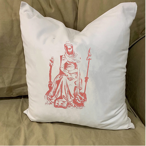 MATER ADMIRABILIS PILLOW WITH FEATHER INSERT