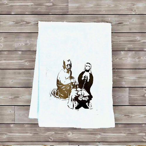 NATIVITY 2017 TEA TOWEL