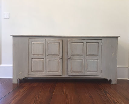 Buffet Sideboard After Faux Finishing By Monique Perry