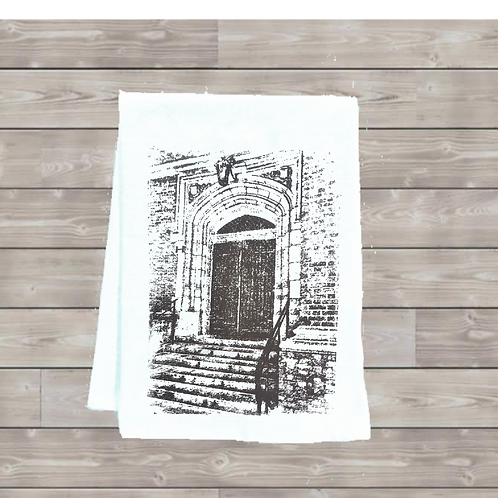 DATE DOOR URSULINE ACADEMY TEA TOWEL
