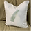 Thumbnail: FERN FROND PILLOW WITH FEATHER INSERT