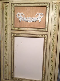 Tremeau Mirror Before Faux Finishing
