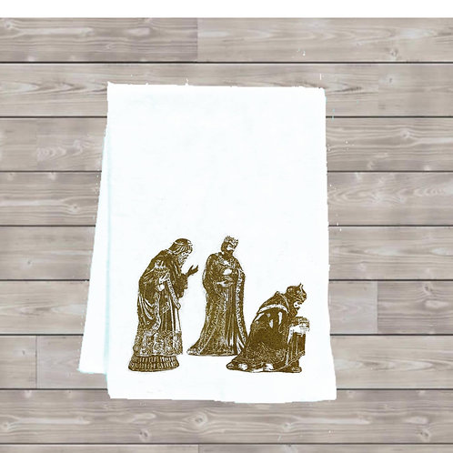 2019 WISEMEN TEA TOWEL