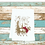 Thumbnail: REINDEER IN THE WOODS WITH BOW TEA TOWEL