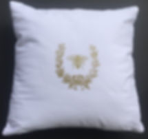 "18""X18"" NAPOLEONIC BE PILLOW"