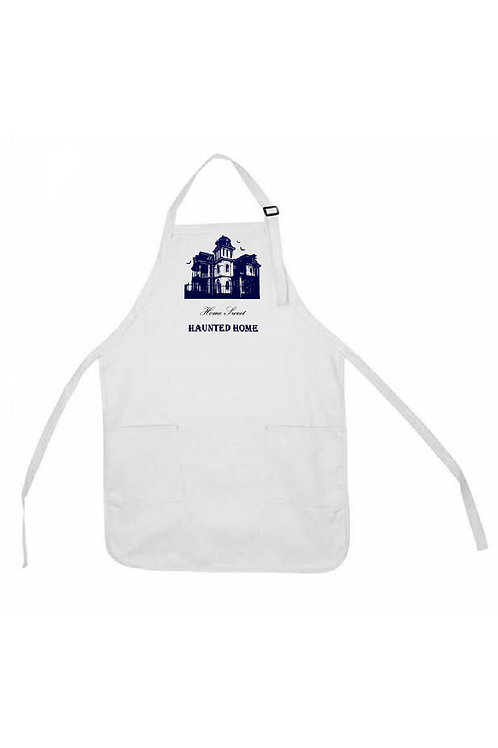 HOME SWEET HAUNTED HOME APRON