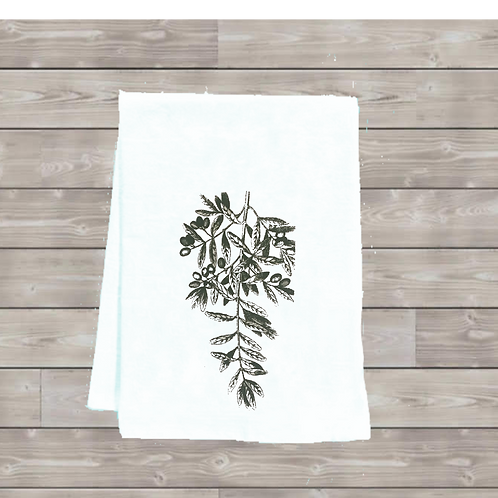 OLIVE BRANCH TEA TOWEL