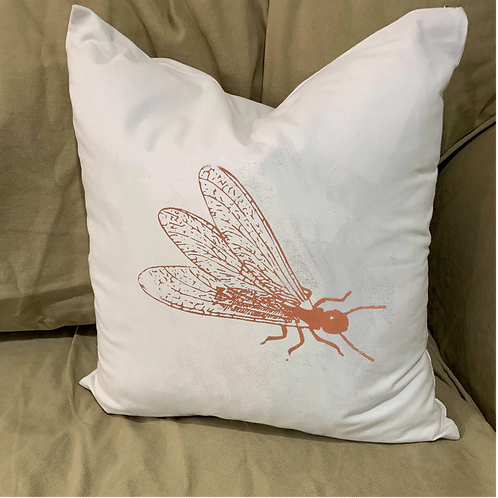 FORMOSAN TERMITE PILLOW WITH FEATHER INSERT