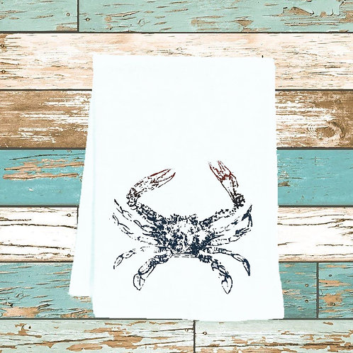 BLUE CRAB TEA TOWEL