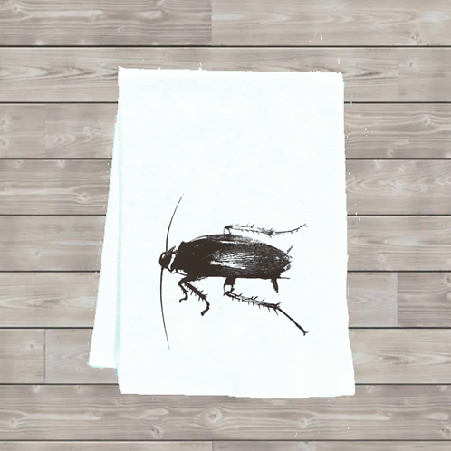 COCKROACH  TEA TOWEL