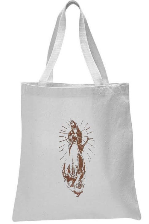OUR LADY OF GAUDELOUPE  TOTE BAG