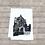 Thumbnail: CHAPEL URSULINE ACADEMY TEA TOWEL